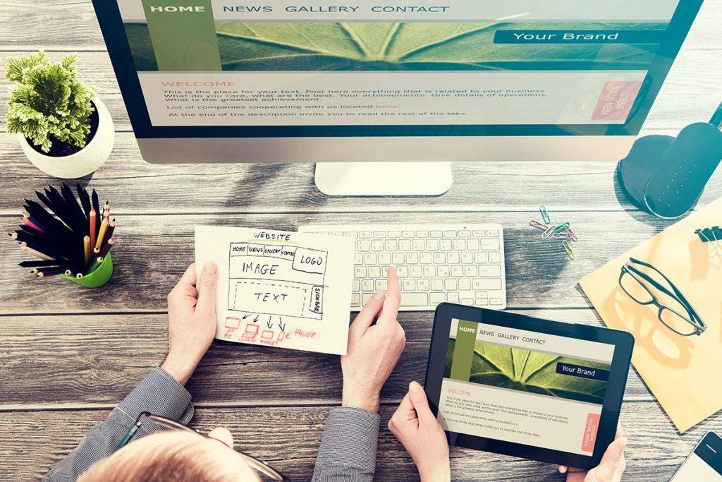 diseño de paginas web para negocios