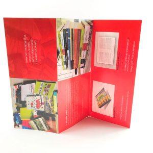 Impresión y diseño de tríptico