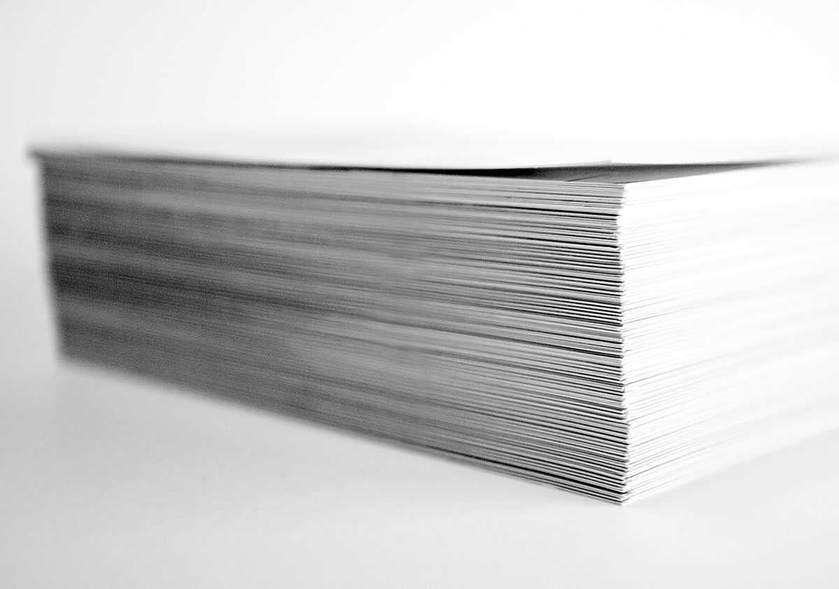 Papel para imprimir catálogos, revistas y libros