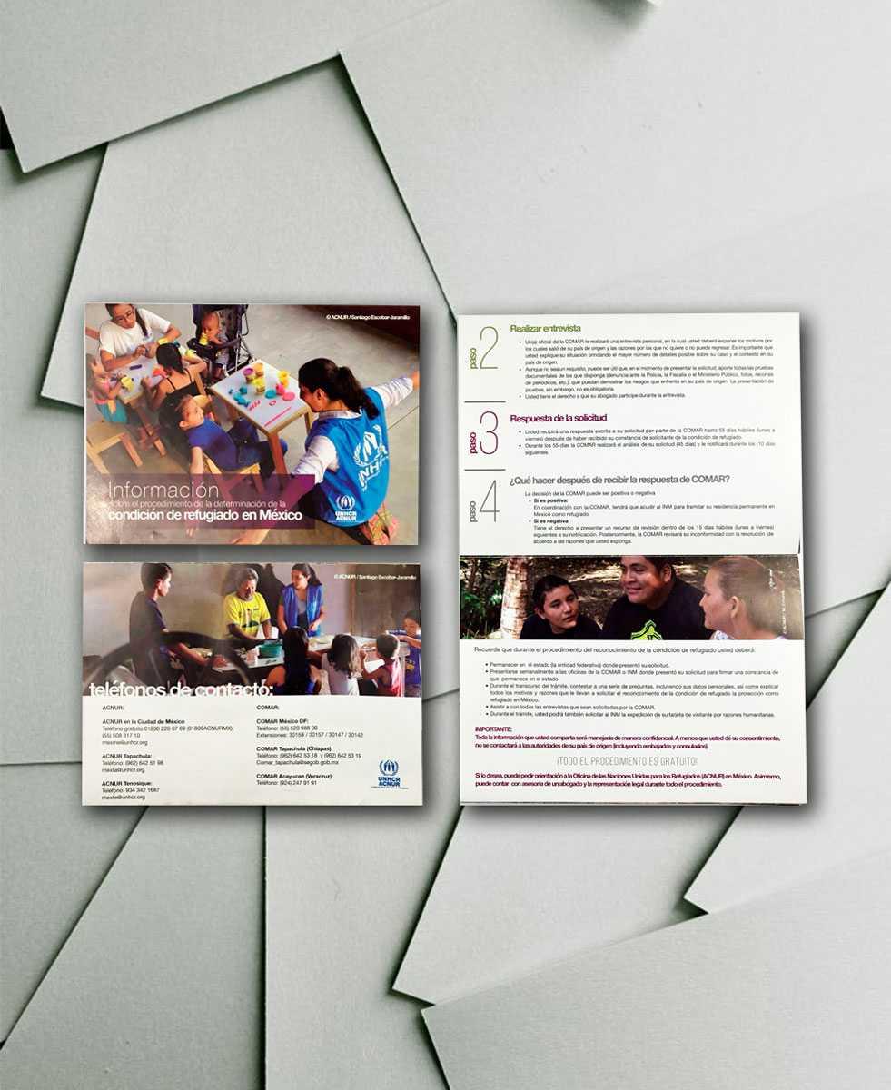 Diseño e impresión de folletos